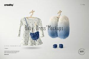 Baby Dress Mockup Set 10