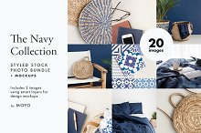 The Navy Collection Photo Bundle by  in Beauty & Fashion
