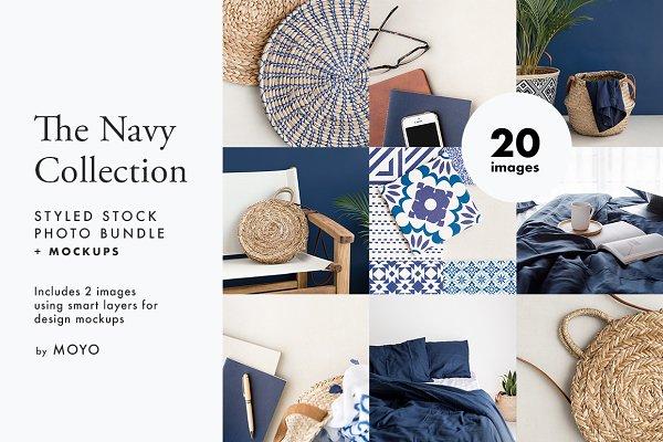 Beauty & Fashion Stock Photos: Moyo Studio - The Navy Collection Photo Bundle