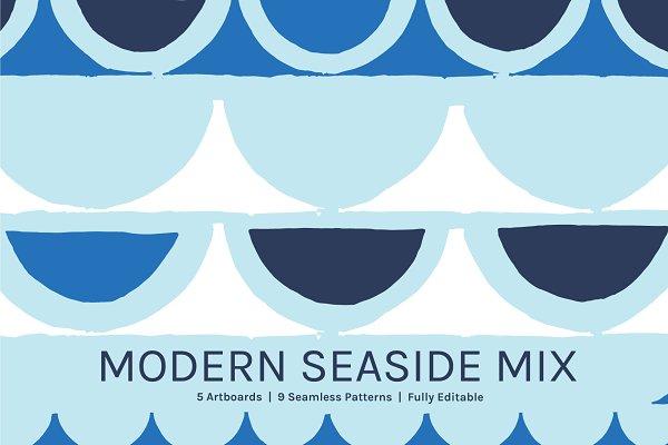 Patterns - Modern Seaside | Designs + Patterns