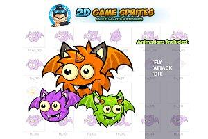 Flying Monster Game Sprites
