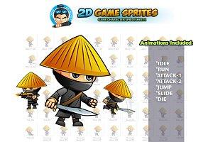 Samurai 2D Game Sprites