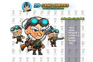 Sniper 2D Game Sprites