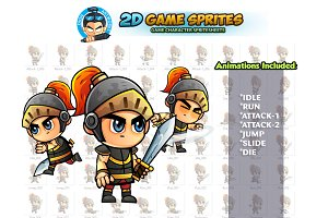Knight 2D Game Sprites