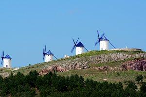 Windmills Molinos de Viento Alcazar