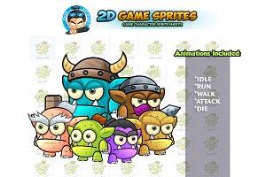 Mini Orc 2D Game Sprites