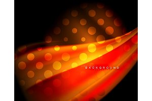 Neon holographic fluid color wave for web, wallpaper, pattern, texture and background