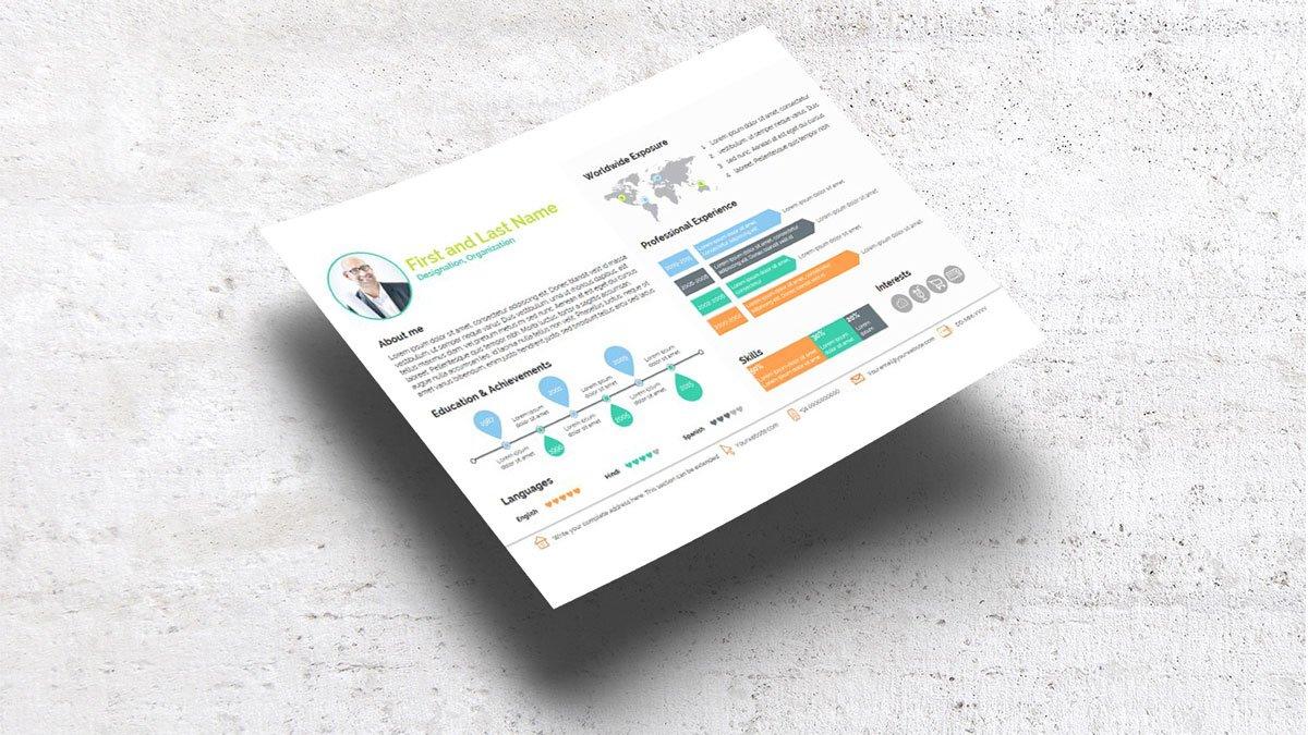 Smart Resume ~ Presentation Templates ~ Creative Market