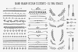 Hand Drawn Design Elements