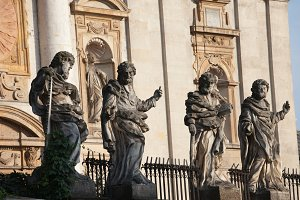 Apostles Sculptures in Krakow