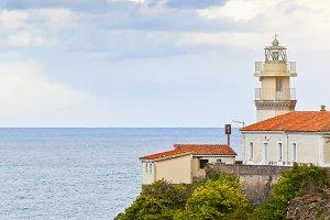 Lighthouse of Cudillero, Asturias,