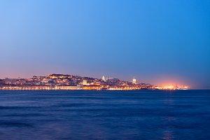 Lisbon City Blue Hour River View