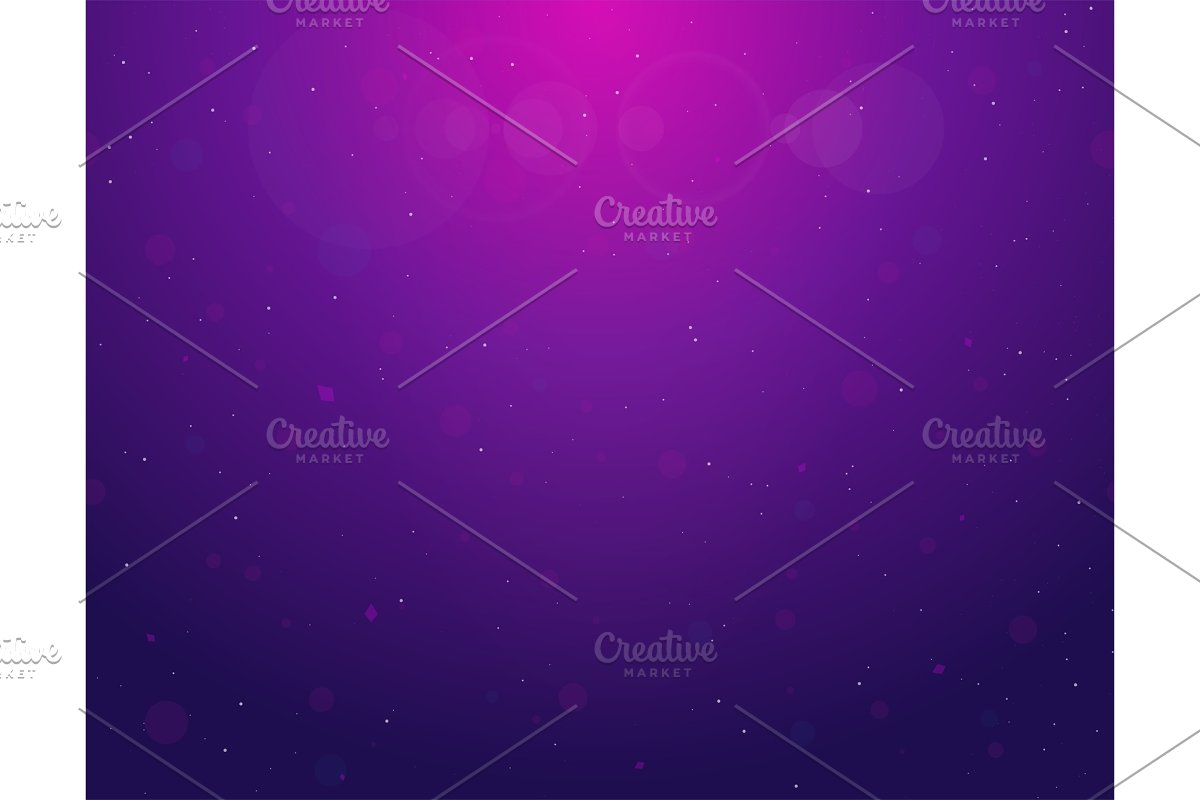 Gradient bubbles background