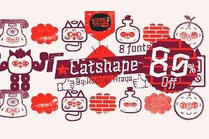 Catshape -80% fast sale