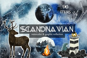 Scandinavian collection. PNG+JPEG