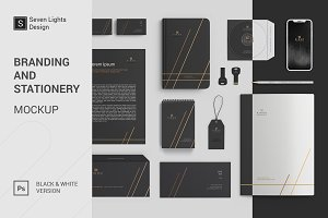 Branding and stationery Mockup #1