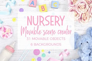 Nursery Scene Creator Top View