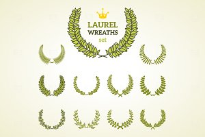 11 Laurel Wreaths