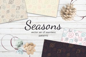 Seasons patterns collection