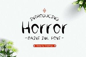 Horror Ink Font