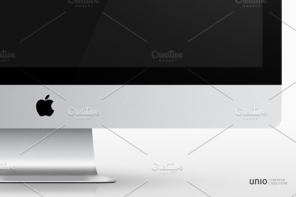 "iMac 27"" 5k Mockup in Product Mockups - product preview 1"