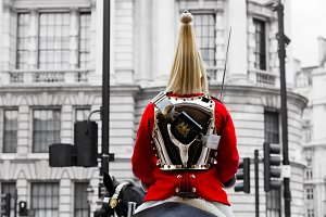 A Royal Horse Guards soldier, London
