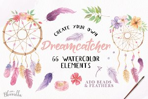 Dreamcatcher Creator DIY 66 Elements