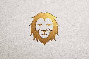 Premium Lion Logo V.1
