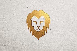 Premium Lion Logo V-2