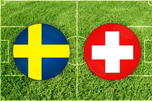 Sweden vs Switzerland football match