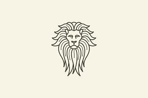 Premium Lion Logo V-3