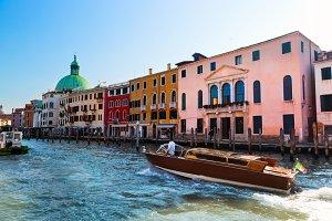Venice: architecture & Grand Canal