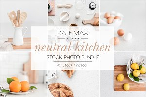 Kitchen Styled Stock Photo Bundle