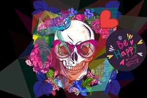 Friendly skull