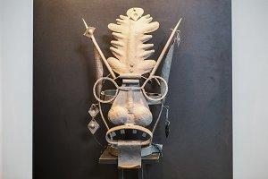 Medieval torture mask
