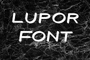 Lupor Font