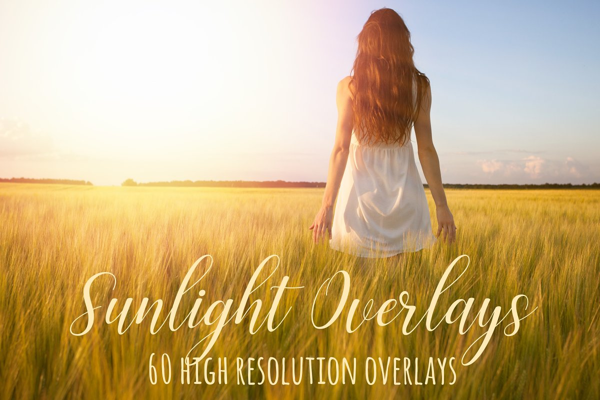 Sunlight photoshop overlays ~ Graphic Objects ~ Creative Market