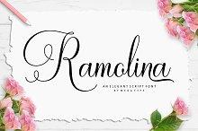 Ramolina Script