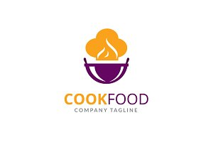Cook Food Logo