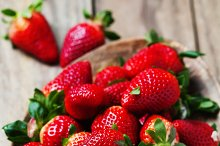 Sweet fresh strawberry