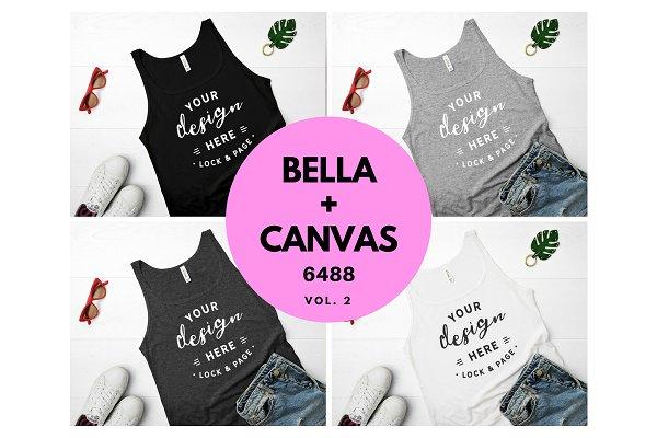 6488 Bella Canvas Tank Top Mockup V…
