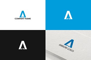 Arrow logo design