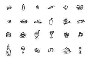 Doodle Food