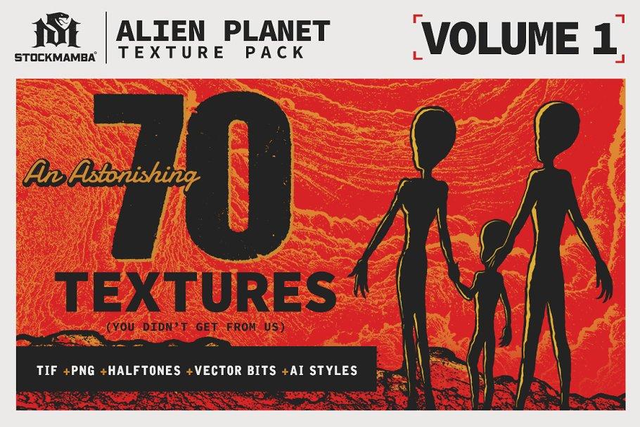 Alien Planet Texture Pack ~ Textures ~ Creative Market