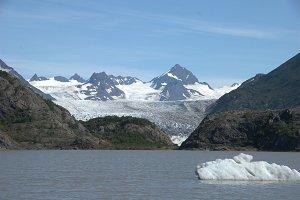 Iceberg on Glacier Lake