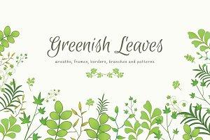 Greenish Leaves Bundle