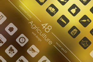 48 AGRICULTURE icons