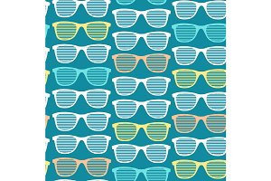 Striped Sunglasses Pattern