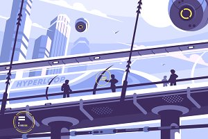 Hyperloop future public transport