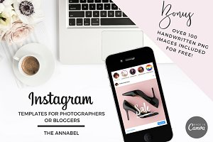 Canva Instagram Template